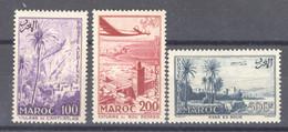 Maroc  -  Avion  :  Yv   100-02  ** - Airmail
