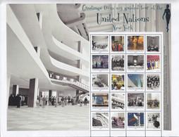UNO NEW YORK  1284-1293, Kleinbogen, Postfrisch **, Grußmarken: UNO-Besichtigungstour, 2012 - Blocks & Kleinbögen