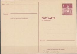 BERLIN P 78 F+A, Ungebraucht, 1969 - Postkarten - Ungebraucht