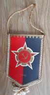 Vintage Pennant Football Soccer Club FK Sloboda Tuzla Bosnia Ex Yugoslavia  80x140mm - Abbigliamento, Souvenirs & Varie