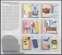 ITALIEN  Block 22, Postfrisch **, Italienisches Design (I): Einrichtungsgegenstände, 2000 - Blocchi & Foglietti