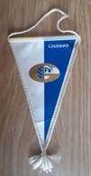 Vintage Pennant Football Soccer Club FK Galenika Serbia Ex Yugoslavia  10x19cm - Abbigliamento, Souvenirs & Varie