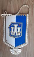 Vintage Pennant Football Soccer Club NK Zagreb Croatia Ex Yugoslavia 8x14cm - Abbigliamento, Souvenirs & Varie