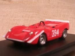 FIAT ABARTH 2000 SPORT CUNEO SARNANO-SASSOTETTO 1969 LUALDI BARNINI 1/43 TRUE - Altri