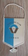Vintage Pennant Football Soccer Club FK Vrbas Sebia Ex Yugoslavia 85x135mm - Abbigliamento, Souvenirs & Varie