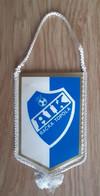Vintage Pennant Football Soccer Club FK AIK Backa Topola Sebia Ex Yugoslavia 85x140mm - Abbigliamento, Souvenirs & Varie