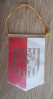 Vintage Pennant Football Soccer Club NK Vidor 1930 Croatia Ex Yugoslavia 98x145mm - Abbigliamento, Souvenirs & Varie