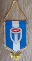 Vintage Pennant Football Soccer Club FK Famos Hrasnica Bosnia Ex Yugoslavia 85x135mm - Abbigliamento, Souvenirs & Varie