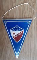 Vintage Pennant Football Soccer Club FK Ljubic Prnjavor Bosnia Ex Yugoslavia 115x155mm - Abbigliamento, Souvenirs & Varie