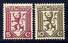 LUXEMBOURG - 231/232** - ARMOIRIES - Neufs