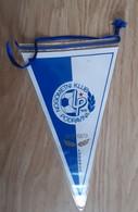 Vintage Pennant Football Soccer Club NK Podravina Ludberg Croatia Ex Yugoslavia 12x21cm - Abbigliamento, Souvenirs & Varie