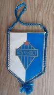 Vintage Pennant Football Soccer Club FK Buducnost MonteNegro Ex Yugoslavia 85x135mm - Abbigliamento, Souvenirs & Varie