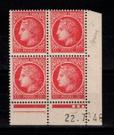 Coin Daté YV 676 N** Ceres De Mazelin Du 22.7.46 , 3 Points - 1940-1949