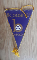 Vintage Pennant Football Club FK Bosna Visoko Bosnia Ex Yugoslavia 115x190mm - Abbigliamento, Souvenirs & Varie