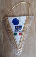 Pennant ITALY Football Federation Italia 12x16cm - Abbigliamento, Souvenirs & Varie