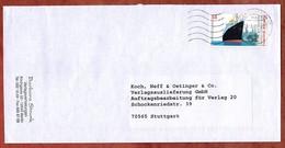 Brief, Dampfer Bremen Sk, MS Welle Briefzentrum 12, Berlin Nach Stuttgart 2005 (5280) - Briefe U. Dokumente