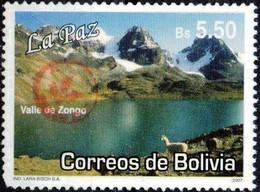 Bolivia 2018 **  CEFIBOL 2359 (2007 #1994) .Zongo Valley (La Paz) Authorized By The Bolivian Post Office. - Bolivia
