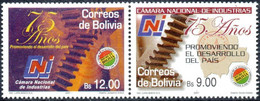 Bolivia 2018 **  CEFIBOL 2380 (2013 #2212) 75 Years Of The National Chamber Of Commerce, Qualified For The Bolivian Post - Bolivia