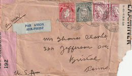 Ireland Old Censored Cover Mailed - Covers & Documents