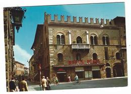 11.383 - REGGIO EMILIA PALAZZO CAPITANO DEL POPOLO ANIMATA NEGOZI 1960 CIRCA - Reggio Emilia
