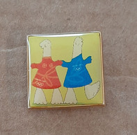Athens 2004 Olympic Games, Small Pin With Mascots - Jeux Olympiques