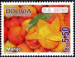 Bolivia 2018 **  CEFIBOL 2402 (2011 #2086) Export Fruits: Mango, Authorized For The Bolivian Post Office. - Bolivia