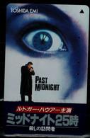 JAPAN  1992 PHONECARD CINEMA PAST MIDNIGHT USED VF!! - Cinema