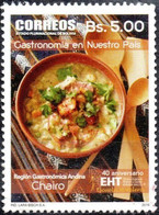 Bolivia 2018 **  CEFIBOL 2393 (2016 #2282) National Gastronomy: Chairo, Authorized By The Bolivian Post Office. 100 Know - Bolivia