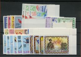 1960, Liberia, 557-59 U.a., ** - Liberia