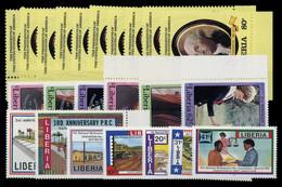 1981, Liberia, 1204-13 U.a., ** - Liberia