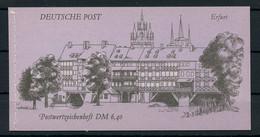 1990, DDR, MH 10, Cto - Markenheftchen