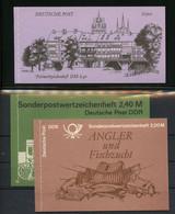 1985, DDR, MH 8 U.a., ** - Markenheftchen