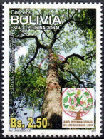 Bolivia 2018 **  CEFIBOL 2388  (2011 #2112) Year Of The Forest: Chesnut, Authorized For Bolivian Post Office. 100 Know - Bolivia