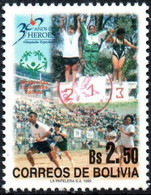 Bolivia 2018 **  CEFIBOL 2300  (1999 #1671) Special Olympics: Podium, Authorized ForBolivian Post Office. 100 Known - Bolivia