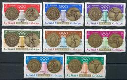 1968Ajman341-3481968 Olympic Games In Mexiko6,50 € - Estate 1968: Messico