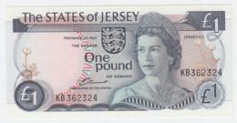 Jersey 1 Pound 1976 - 1988 UNC NEUF Pick 11a (Sign 2) - Jersey