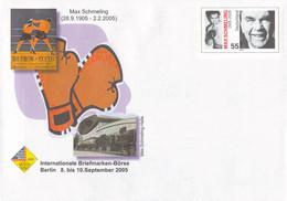 Germany Postal Stationary 2005 Max Schmelling Boxer W/print Briefmarken-Börse Berlin - Mint (DD32-16) - Pugilato