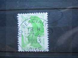 "VEND BEAU TIMBRE DE FRANCE N° 2188 , OBLITERATION "" BEAUVAIS "" !!! - 1982-90 Libertà Di Gandon"