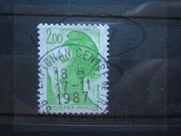 """VEND BEAU TIMBRE DE FRANCE N° 2188 , OBLITERATION """" PERPIGNAN """" !!! - 1982-90 Libertà Di Gandon"""