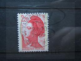 "VEND BEAU TIMBRE DE FRANCE N° 2376 , OBLITERATION "" VALBONNE "" !!! - 1982-90 Libertà Di Gandon"