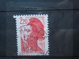 "VEND BEAU TIMBRE DE FRANCE N° 2376 , OBLITERATION "" MAUREPAS "" !!! - 1982-90 Libertà Di Gandon"