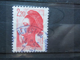 "VEND BEAU TIMBRE DE FRANCE N° 2376 , OBLITERATION "" REVEST-DU-BION "" !!! - 1982-90 Libertà Di Gandon"
