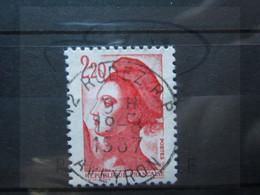 "VEND BEAU TIMBRE DE FRANCE N° 2376 , OBLITERATION "" RODEZ "" !!! - 1982-90 Libertà Di Gandon"