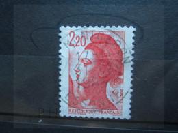 "VEND BEAU TIMBRE DE FRANCE N° 2376 , OBLITERATION "" MONTGERON "" !!! - 1982-90 Libertà Di Gandon"