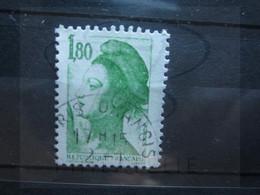 "VEND BEAU TIMBRE DE FRANCE N° 2375 , OBLITERATION "" RIS-ORANGIS "" !!! - 1982-90 Libertà Di Gandon"
