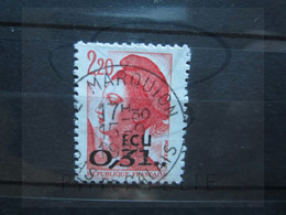 "VEND BEAU TIMBRE DE FRANCE N° 2530 , OBLITERATION "" MARQUION "" !!! - 1982-90 Libertà Di Gandon"