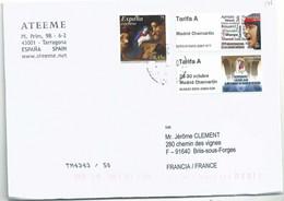 Vignette D'affranchissement IAR - ATM - Langues Indiènes - Réservoir Médéval De Caceres - Nativité - 2011-... Lettere
