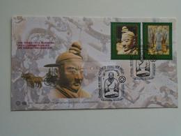 D184726 UN Wien Vienna Vienne - FDC - Terrakottakrieger -Terracotta Warriors (Mi.Nr. 238/9) 1997 - China Chinese Army - FDC