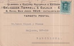 LLIBRERIA SALVADOR TORRELL EULALIA REUS  PUBLI PUBLICIDAD BARCELONA CATALUÑA  ESPAÑA - Barcelona