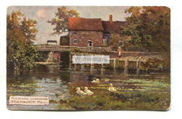 Stockworth Water Mill, Lincolnshire - Old Tuck Postcard No. 7781 - Autres